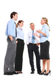 Businessman and businesswoman Stock Photo