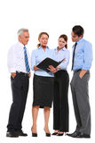 Businessman and businesswoman Royalty Free Stock Photos