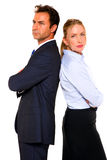 Businessman and businesswoman Royalty Free Stock Photography