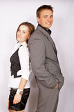 Businessman and businesswomen Royalty Free Stock Photos
