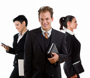 Businessman and businesswomen Royalty Free Stock Image