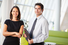 Businessman And Businesswomen Having Meeting In Office Stock Photography