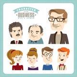 Businessman & businesswomen Royalty Free Stock Images