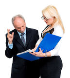 Businessman and businesswomen Royalty Free Stock Photos