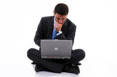 Businessman busy Royalty Free Stock Photography