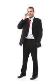 Businessman Calling On Mobile Phone Royalty Free Stock Photo