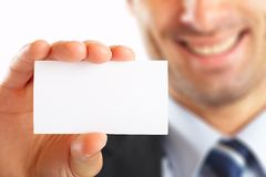 Businessman Card Royalty Free Stock Image