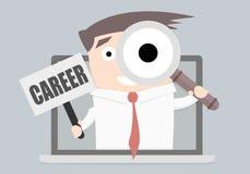 Businessman Career Laptop Royalty Free Stock Images