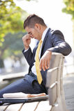 Businessman career problems Stock Photos