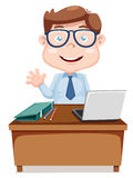 Businessman cartoon Stock Photos