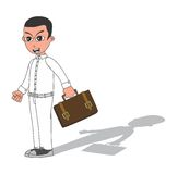 Businessman cartoon character Stock Photo