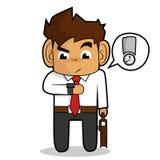 Businessman cartoon Royalty Free Stock Photos