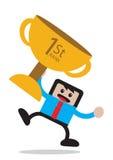 Businessman cartoon character Royalty Free Stock Image