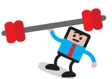 Businessman cartoon character Stock Image
