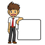 Businessman cartoon Stock Photography