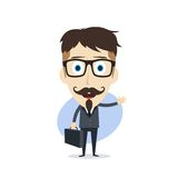 Businessman cartoon Stock Photos