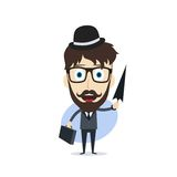 Businessman cartoon Stock Image