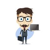 Businessman cartoon Royalty Free Stock Images