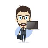Businessman cartoon Royalty Free Stock Photo