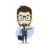 Businessman cartoon Royalty Free Stock Images
