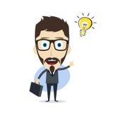 Businessman cartoon Stock Photo