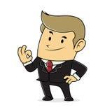 Businessman feeling confident Stock Photo