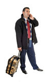 Businessman on cell phone. Stock Photography