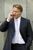 businessman cellphone Στοκ Φωτογραφίες