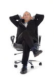 Businessman chair Stock Image