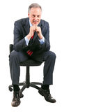 Businessman chair Stock Photography