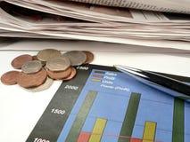 Businessman Charting Profits Royalty Free Stock Photo