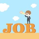 Businessman choice job concept Royalty Free Stock Image