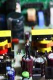 Businessman circuit board C Stock Image