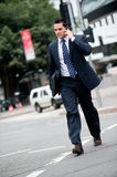 Businessman in city Stock Photos