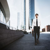 Businessman in the city Royalty Free Stock Images