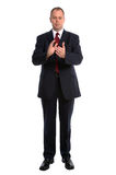 Businessman clapping Stock Image
