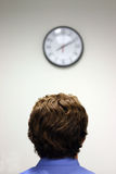 businessman clock 库存图片
