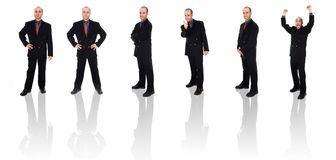 Businessman Clone Stock Image
