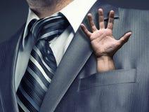 Businessman close up Stock Photos