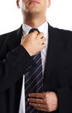 Businessman Closeup Stock Images