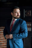 Businessman clothes corrects office Royalty Free Stock Images