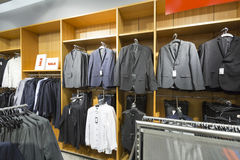 Businessman clothing store Stock Photography