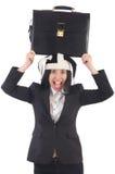 Businessman clown Royalty Free Stock Photography