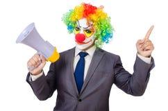 Businessman clown Stock Photography