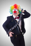 Businessman clown  Stock Photos