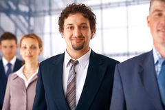 Businessman With Colleagues. Stock Photography