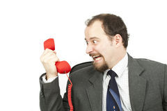Businessman-communication Royalty Free Stock Photos
