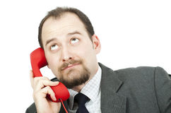 Businessman-communication Stock Images