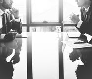 Businessman Communication Company Meeting Concept Stock Photography