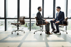 Businessman Communication Company Meeting Concept Royalty Free Stock Photography